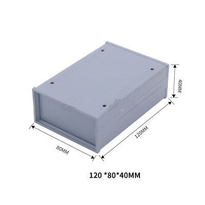 Pcb Instrument Box Enclosure Electronic Project Case Diy 120x80x40mm