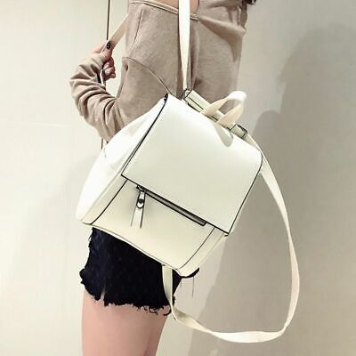 80's Fashion For Girls (Small Pu Leather School Backpack for Teenager Girls Woman Fashion Solid)