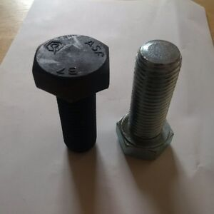 Hex Bolts, Heavy Duty ASF B7 and ZJ hex bolts -QTY 50