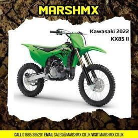 Kawasaki KX 85 Big Wheels - 2022 Model, Nil Deposit Finance Available