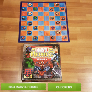 2003 MARVEL HEROES CHECKERS