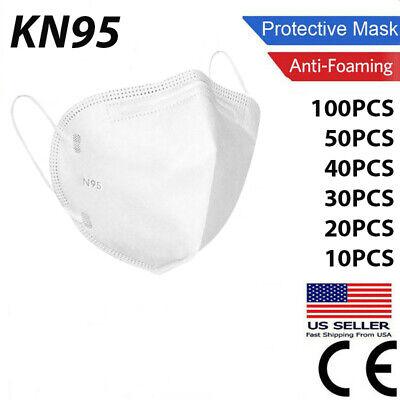 20/50/100 Pcs Kn95 Protective Face Mask Masks Disposable Kn 95