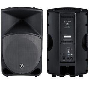 Mackie powered speakers(Pair)