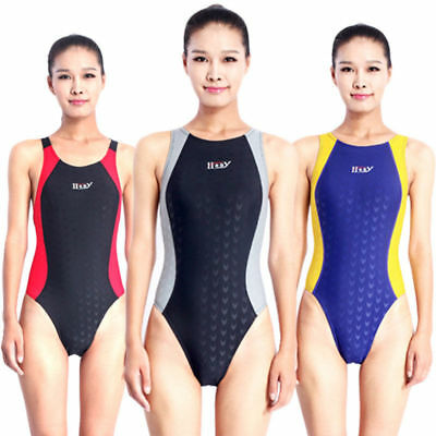 (New womens racing competitive training sharkskin swimwear 283)