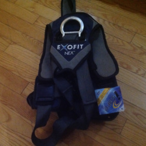 New Exofit Safety Harness