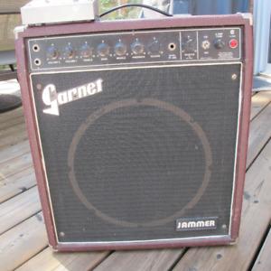 Vintage Garnet Jammer Tube Guitar Amp RARE Burgundy 50 watt 1x12