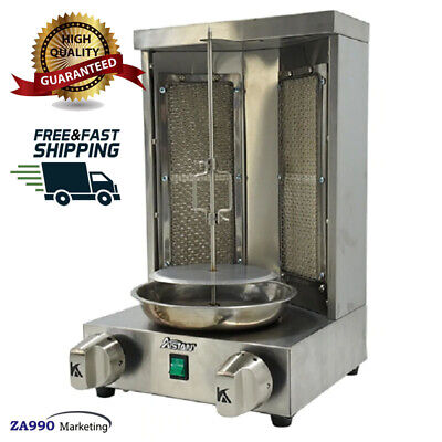 Used, Commercial Shawarma Tacos Al Pastor Doner Kebab Gyro Grill Machine Rotisserie for sale  Shipping to Nigeria