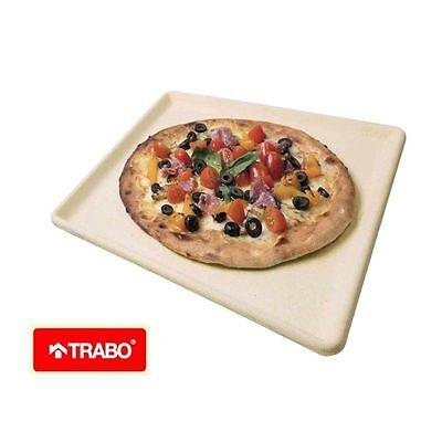 NATURCOOK PIASTRA PIETRA REFRATTARIA PER PIZZA COTTURA FORNO NATURCOOK TRABO