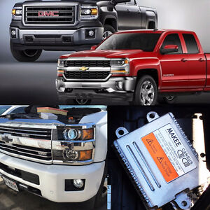 HID Conversion kit for GMC Sierra Truck Makee 55w Canbus kit