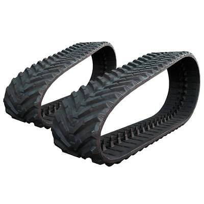 Pair Of Prowler Bobcat T650 Snow And Mud Rubber Tracks - 450x86x52 - 18