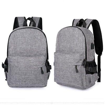 Lightweight Notebook Case - Men's Lightweight Laptop Notebook Bag Case School Bag Travel Rucksack & USB Port