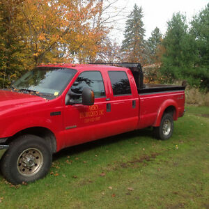 2004 Ford F350 XLT Pickup Truck with Dump Bed