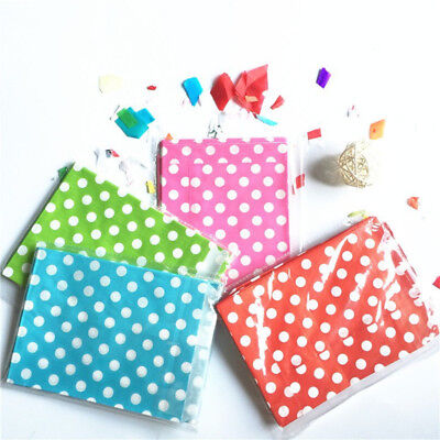 50pcs Polka Dot Candy Bags Sweet Buffet Cake Wedding Favour Gift Paper Party Bag](Polka Dot Party Bags)