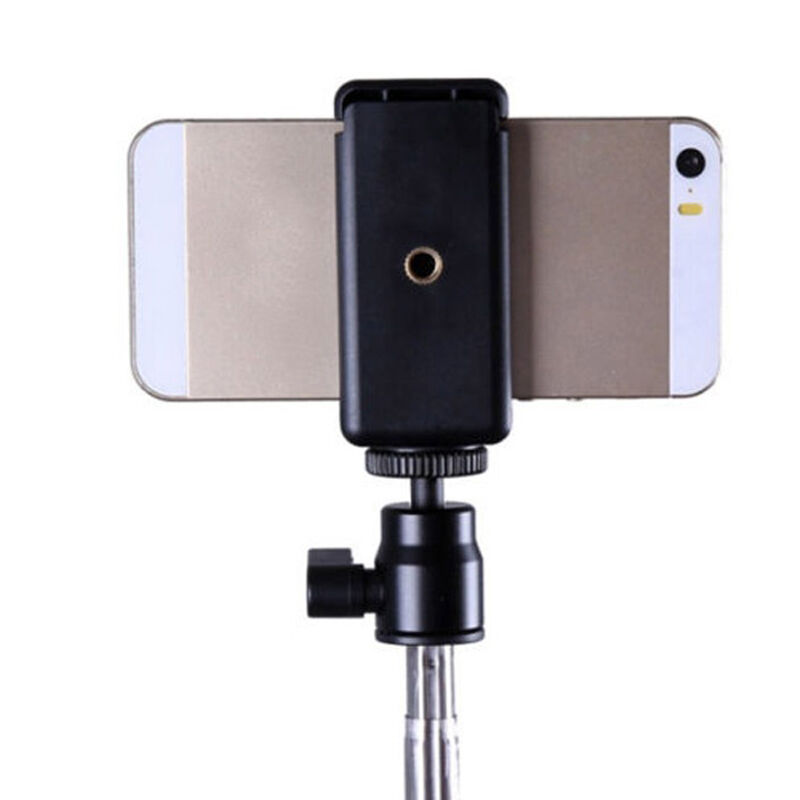 1 X Cell Phone Camera Stand Clip Tripod Holder Mount Adapter For iPhone SamsCA7H