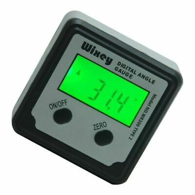 Wixey Wr300 Type 2 Digital Angle Gage Protractor Inclinometer Measuring