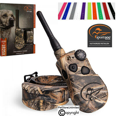 SportDOG SD-1825X CAMO Wetland Hunter X-Series Dog Trainer E-Collar FREE Strap