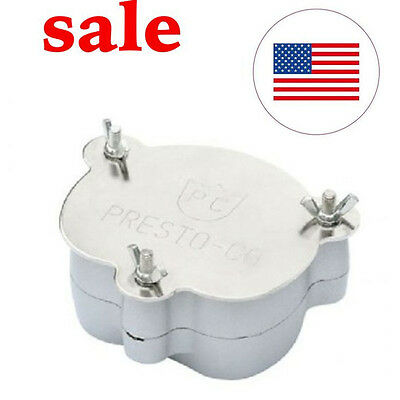 Usa Aluminium Dental Denture Flask Compressor Parts Dental Lab Equipment Oral
