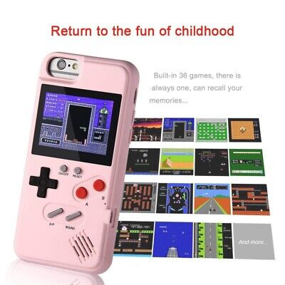 Gameboy Phone Case Cover 36 Retro Games Color Display for iPhone X Max/XS/X/8/7 Color Cell Phone Cover Case