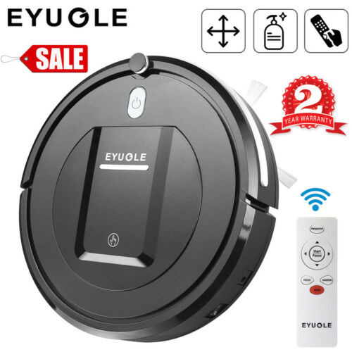 Eyugle Smart Robotic Vacuum Cleaner Automatic Floor Sweeping