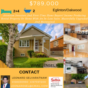Attention Investors And First-Time Home Buyers! house for sale!