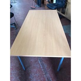 Immaculate High Quality 1460 x 740 Straight Edge Office Workstation Desk.