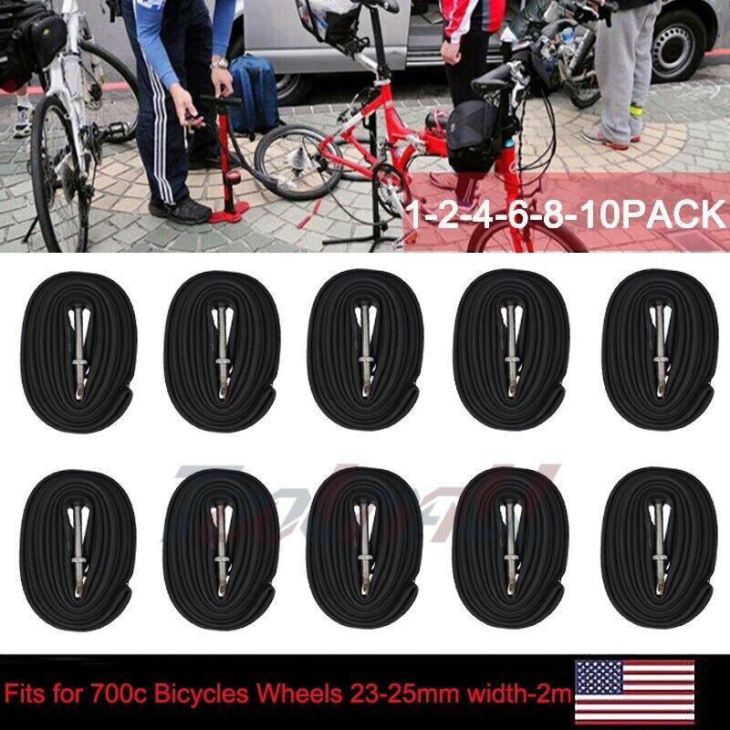 Multi Pack Bulk bicycle inner tubes 700x23c 80mm Bulk Tube