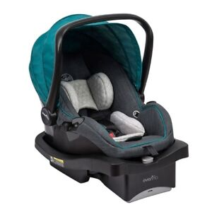 Evenflo infant car seat and JJ Cole cover