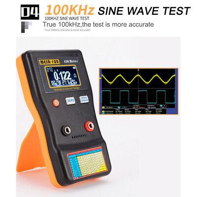 Mesr 100 Ranging V2 Circuit Tester Esr Capacitor Meter 0.001 To 100r Capacitance