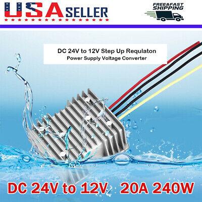 24v To12v Converter Voltage Regulator 20a 240w Step Down Power