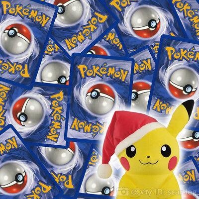 50 x Pokemon Cards Lot — PIKACHU IN EVERY BUNDLE! — Christmas Stocking Filler