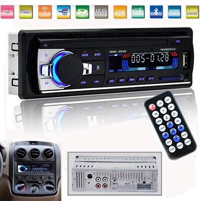 Car Stereo Radio Bluetooth In-dash Head Unit Player FM MP3/USB/SD/AUX Receiver
