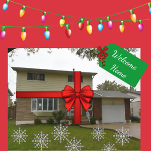 Buy yourself a new home in time for the holidays!!