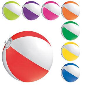 5 x Wasserball 40 cm Strandball Badespaß Strand Wasserspielzeug Aufblasbar