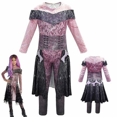 Cool Girls Costumes (Audrey Girls Child Movie Descendants 3 Halloween Cosplay Costume Party Suit)