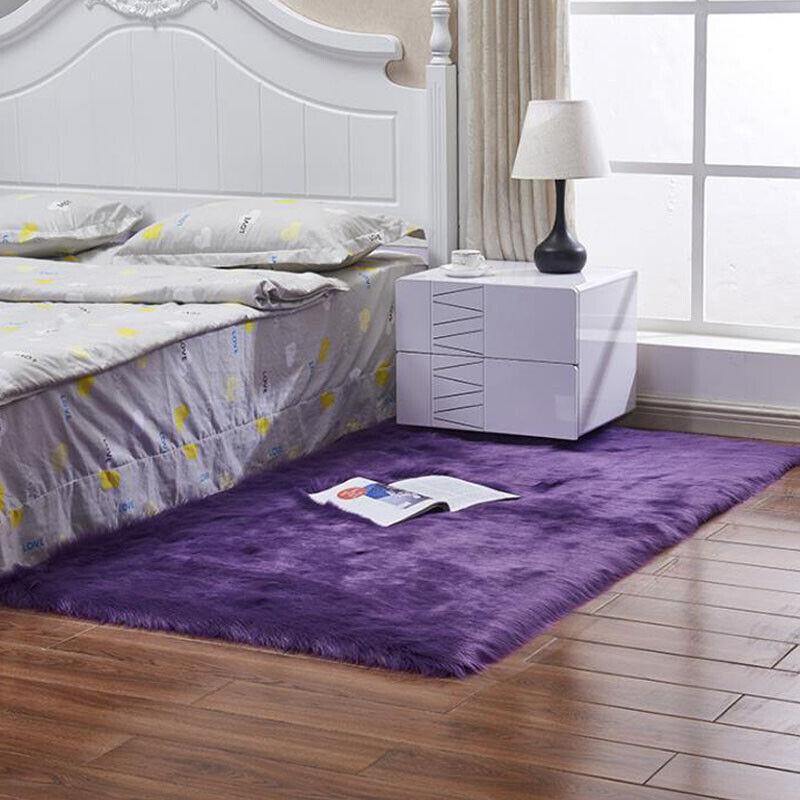 Fluffy Rugs Living Floor