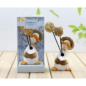 CERAMIC FRAGRANCE DIFFUSER WITH OIL HUMIDIFIER AROMA REFILL GIFT SET AIR REED