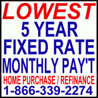 $300,000 MORTGAGE PAY ONLY $1,055 / MONTH!