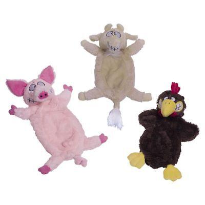 pielzeug Ziege/Schwein/Huhn Plüschspielzeug Hund mit Squeaker (Huhn Hund Spielzeug)