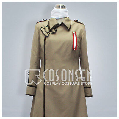 Cosonsen Anime Axis Powers Hetalia APH Russia Uniform Cosplay Costume Halloween