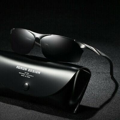 Sports Men HD Polarized Sunglasses Aluminum Travle Goggles UV400 Driving (Sports Goggles Uk)