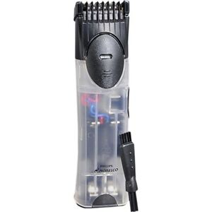 norelco t510 battery operated beard mustache trimmer mens adjustable shaver ebay. Black Bedroom Furniture Sets. Home Design Ideas