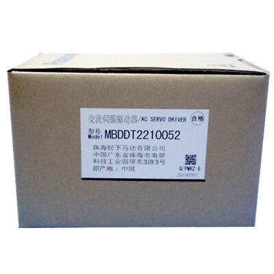 Panasonic Mbddt2210052 Servo Drive New In Box