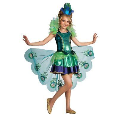 Rub - Pfau Kinder Kostüm als Vogel zu Karneval Fasching
