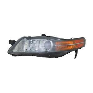 2004-2005 Acura TL Driver Side Hid Headlight Lens Housing - NSF Certified ®