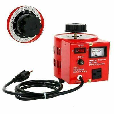 New Variable Ac Transformer Voltage Converter 3 Amp 300w Us Plug Hot