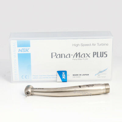 Nsk Pana Max Plus Dental High Speed Handpiece M3 Air Turbine Standard Push 2hole