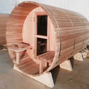 INDOOR AND OUTDOOR SAUNAS. MADE IN CANADA WITH REAL Peterborough Peterborough Area image 7