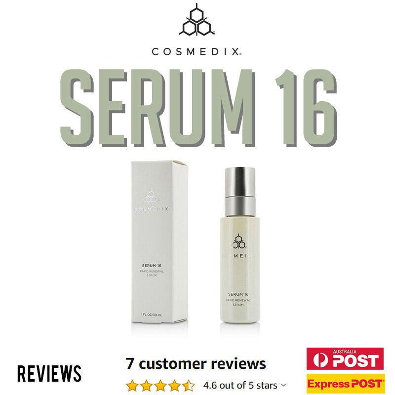 Details about Cosmedix Serum 16 Rapid Renewal Serum 847137026554 AUS Stock