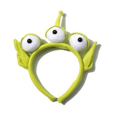 Lovely NWT Toy Story Alien EARS COSTUME Plush HEADBAND Hair Accessories Hot - Toy Story Alien Costumes