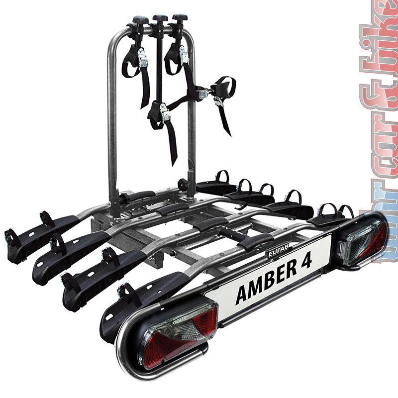 eufab amber 1 hecktr ger fahrradtr ger ahk anh ngerkupplung f r 1 fahrrad e bike ebay
